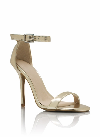 Metallic Single-Sole Heels