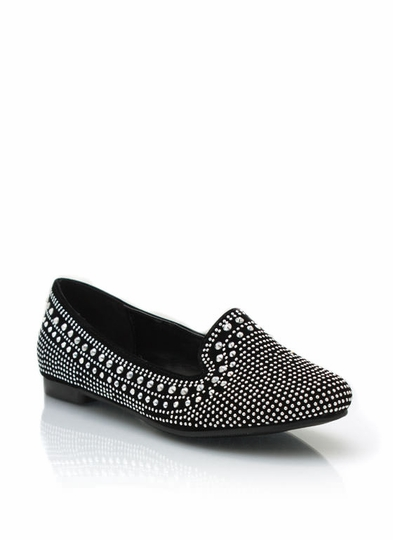 Microstud Loafers