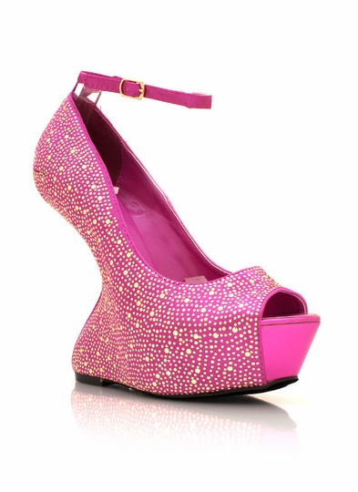 Microstudded Heel-Less Platforms
