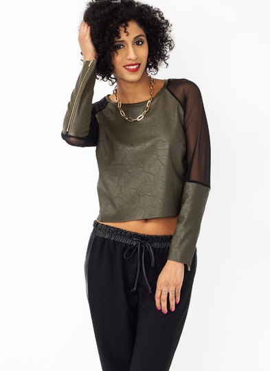 Mix And Mesh Zippy Top