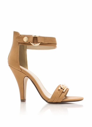 Name Plate Single-Sole Heels
