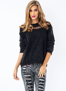 Need 2 Vent Drop Shoulder Sweatshirt