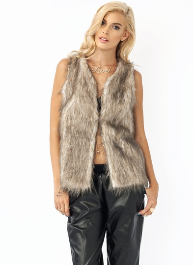 Never Pelt Better Faux Fur Vest