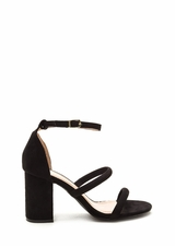 New Muse Strappy Block Heels