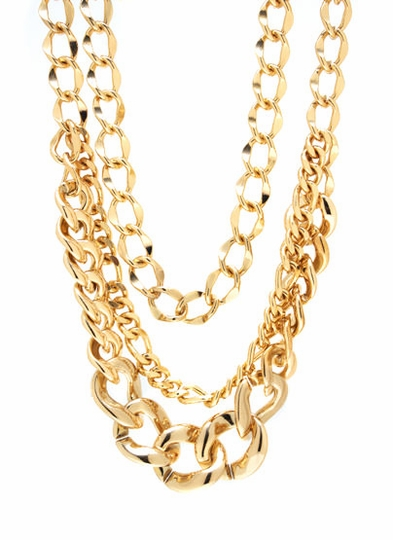 No Chain No Gain Necklace Set