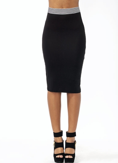 Not Just For Sport Pencil Skirt