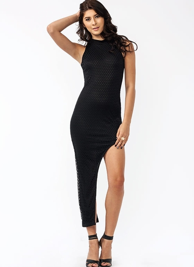 Nothing But Net Slit Dress