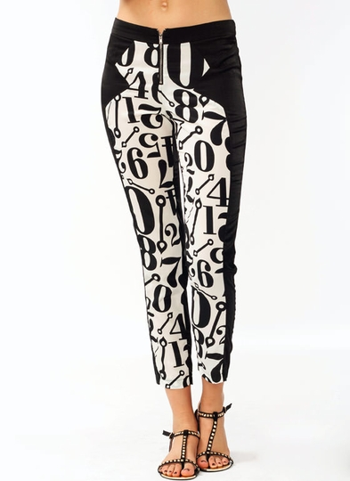 Numbered Lounge Pants