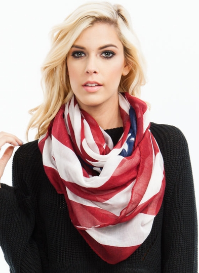 Old Glory Infinity Scarf