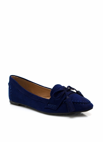 On Point Tassel Loafers