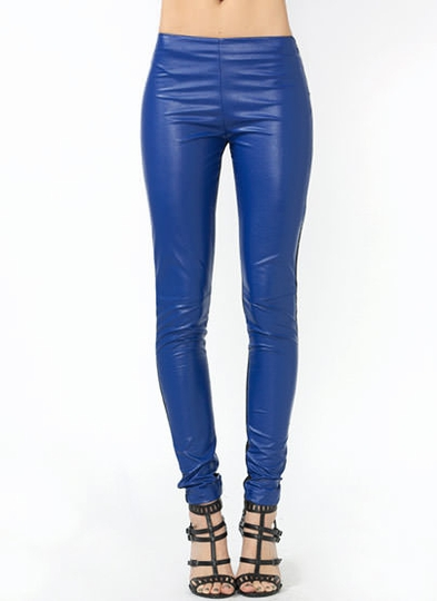 On The Flip Side Faux Leather Pants