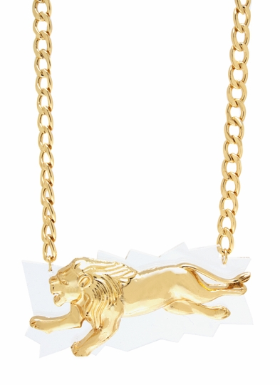 On The Prowl Lion Necklace