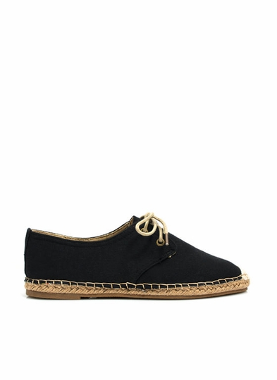 On Your Toes Oxford Espadrille Flats