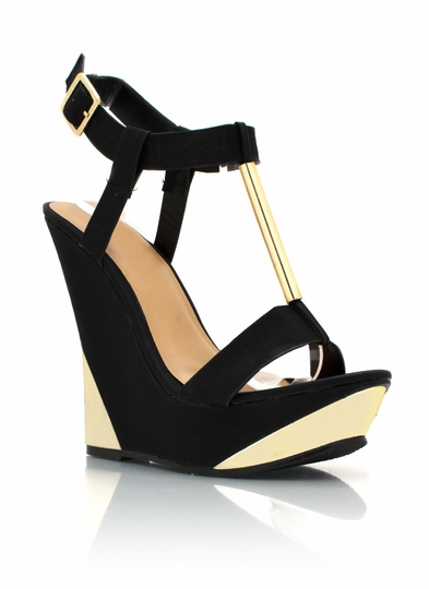 Open Toe Wedges