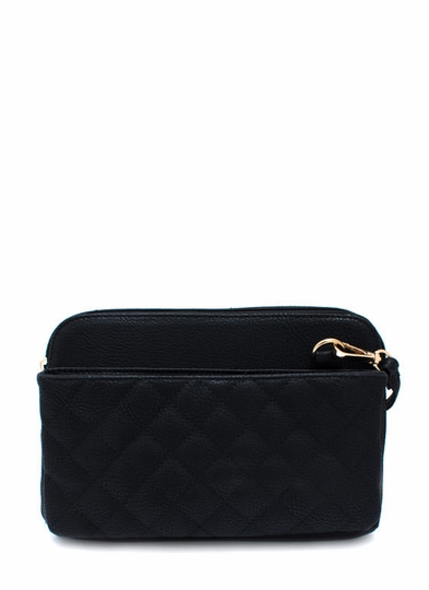 Out Front Quilted Clutch