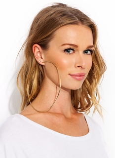 Over The Top Big Hoop Earrings