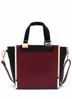 Panel Has Spoken Contrast Handbag