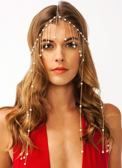 Pearl Party Headpiece