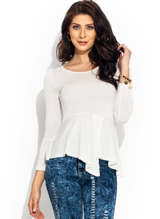 Peppy Draped Top