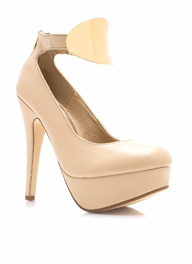 Perfectly Plated Pumps