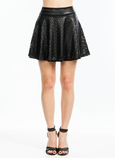 Petal Perfection Skater Skirt