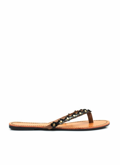Petal to the Medal Thong Sandals