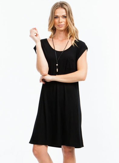 Pick The Pocket T-Shirt Dress