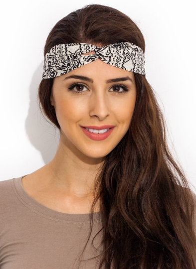 Pixelated Tribal Headband