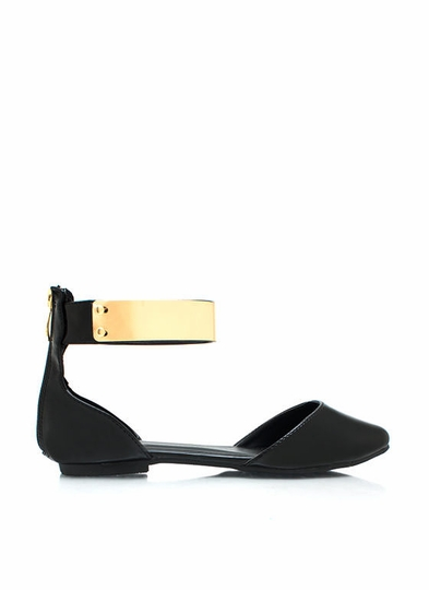 Plate It Cool Faux Patent Flats