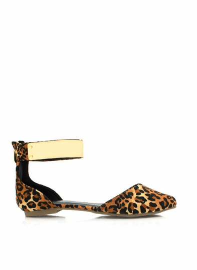 Plate It Cool Leopard Flats