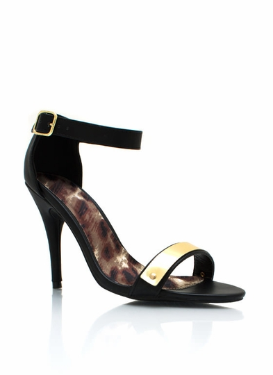 Plated Single-Sole Heels