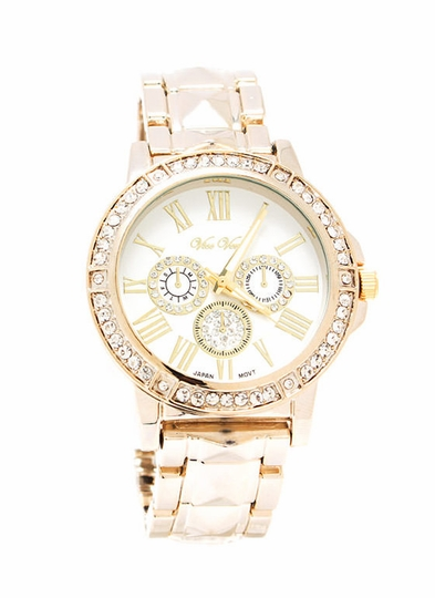 Play Pyramid Jeweled Boyfriend Watch