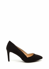 Point Blank Faux Suede Pumps