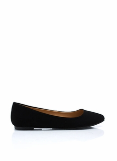 Point Taken Faux Nubuck Flats