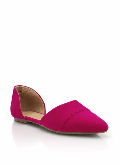 Pointy Toe Open Flats