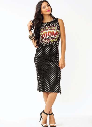 Polka Dot Explosion Dress