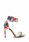 Pretty Prisms Buckled Strappy Heels