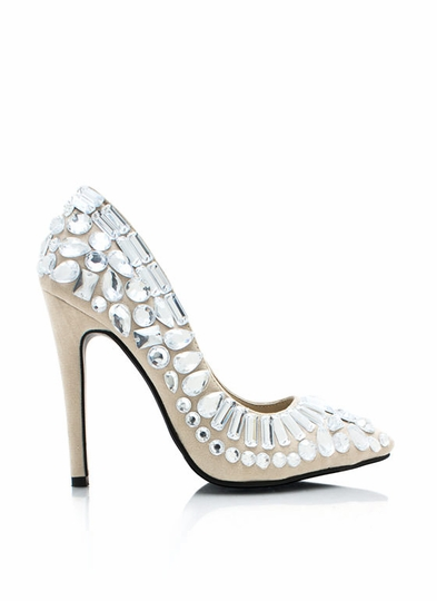 Priceless Gems Single-Sole Heels