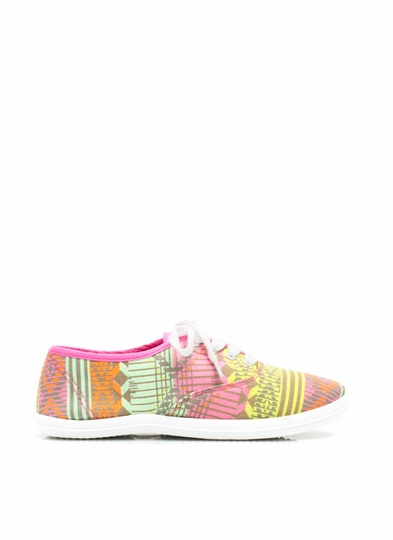 Prints Charming Canvas Sneakers