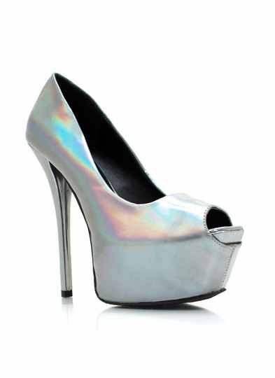 Psychedelic Hologram Pumps