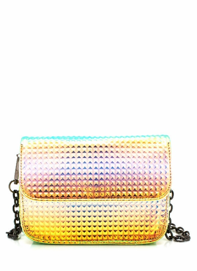 Psychedelic Textured Clutch