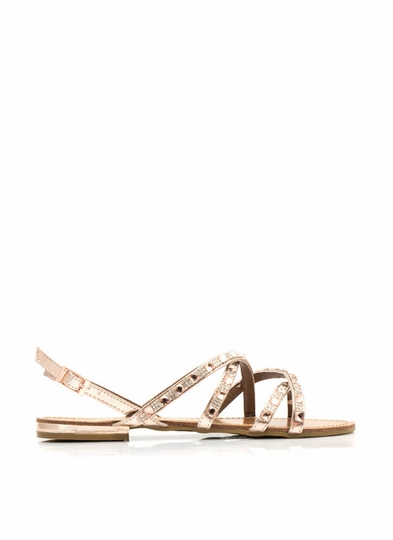 Pumped Up Glitz Embellished Sandals
