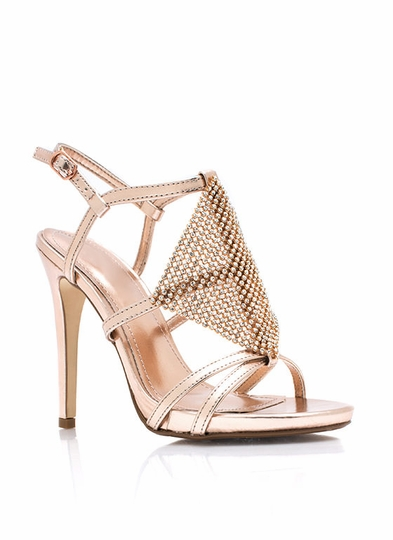 Put On The Glitz Metallic Heels