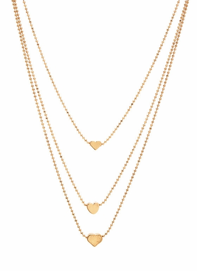 Queen Of Hearts Chain Necklace Set