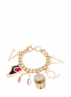 Queen Up The Streets Charm Bracelet