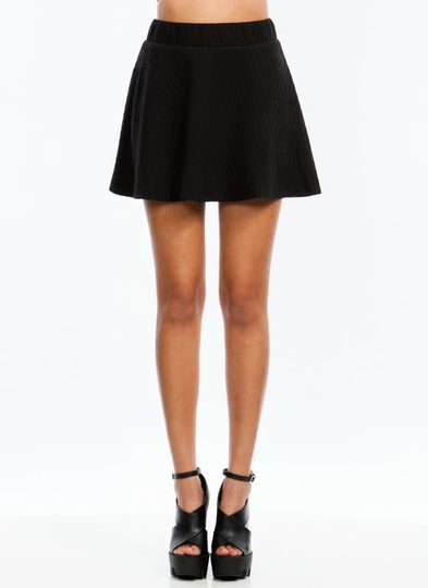 Quilt You Into It Skater Skirt