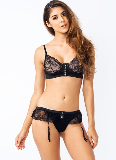 Racy Lacy Bra And Panty Set