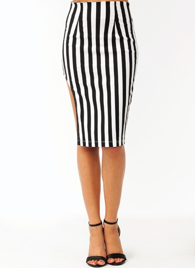 Referee Pencil Skirt
