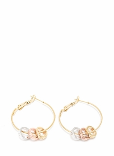 Rings Around The Hoop Earrings