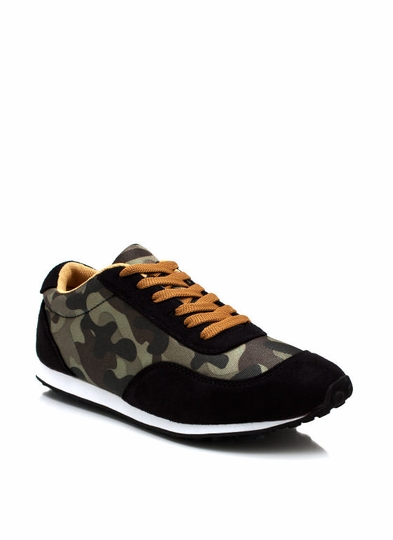 Rise In The Ranks Camo Sneakers